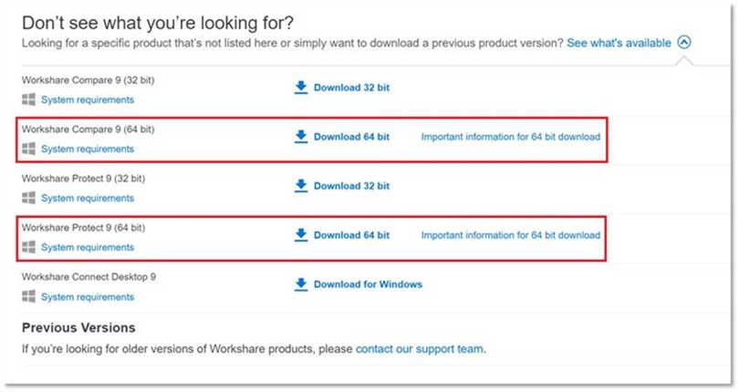 workshare 2 - Workshare lanzó su nueva versión Workshare 9 64-bit GA y puede ser tuya hoy! Aptus Legal